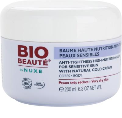 Bio Beauté by Nuxe High Nutrition balsam pentru hidratare intensiva contine emulsie Cold cream