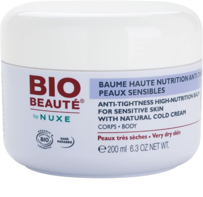 Bio Beauté by Nuxe High Nutrition intenzív tápláló balzsam cold cream