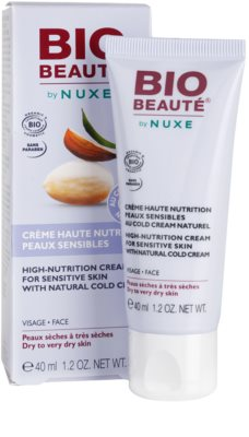 Bio Beauté by Nuxe High Nutrition поживний крем з вмістом cold cream 1