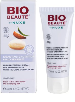 Bio Beauté by Nuxe High Nutrition поживний крем з вмістом cold cream 2