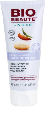 Bio Beauté by Nuxe High Nutrition crema de maini contine emulsie Cold cream