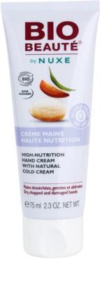 Bio Beauté by Nuxe High Nutrition crema de manos con cold cream