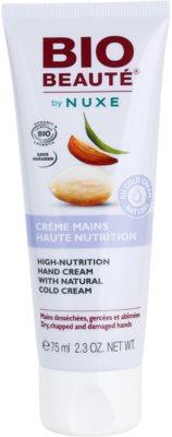 Bio Beauté by Nuxe High Nutrition Handcreme mit Anteilen von