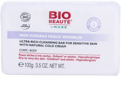 Bio Beauté by Nuxe High Nutrition tápláló szappan cold cream