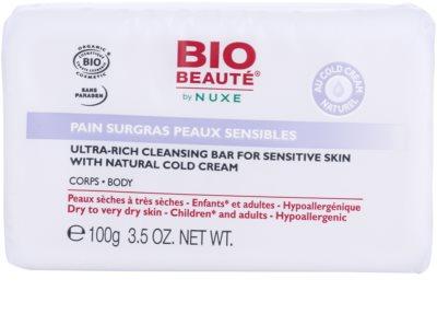Bio Beauté by Nuxe High Nutrition vyživující mýdlo s obsahem Cold Cream