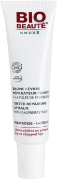 Bio Beauté by Nuxe Lips bálsamo labial reparador con pulpa de frambuesas