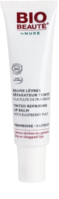 Bio Beauté by Nuxe Lips regeneracijski balzam za ustnice z malinovim mesom