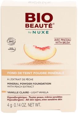 Bio Beauté by Nuxe Mineral base em pó mineral com extrato de pêssego 3