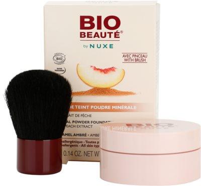 Bio Beauté by Nuxe Mineral мінеральна пудра з абрикосовим екстрактом 1