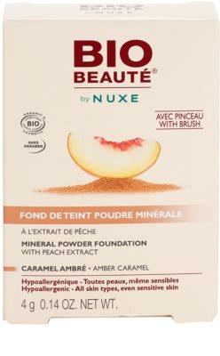Bio Beauté by Nuxe Mineral мінеральна пудра з абрикосовим екстрактом 3