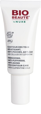 Bio Beauté by Nuxe Moisturizers cuidado energizante para contorno dos olhos com células de clementina