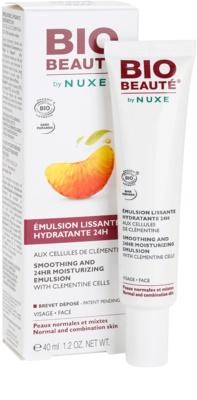 Bio Beauté by Nuxe Moisturizers emulsión hidratante alisadora con células activas de clementina 1