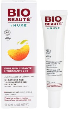 Bio Beauté by Nuxe Moisturizers emulsión hidratante alisadora con células activas de clementina 2