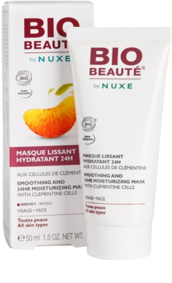 Bio Beauté by Nuxe Moisturizers vlažilna gladilna maska z mesom klementin 1