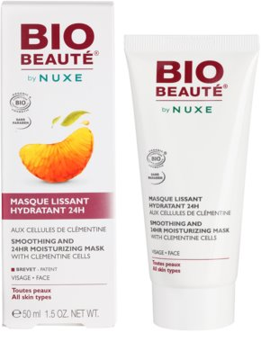 Bio Beauté by Nuxe Moisturizers hydratačná vyhladzujúca maska s dužinou z klementíniek 2