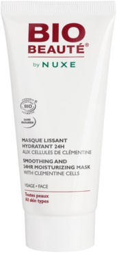 Bio Beauté by Nuxe Moisturizers máscara alisante hidratante com polpa de tangerina clemente