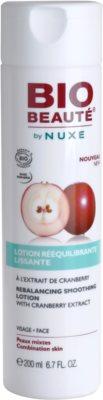Bio Beauté by Nuxe Rebalancing gladilna voda za obraz z izvlečkom brusnic