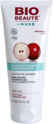 Bio Beauté by Nuxe Rebalancing kiegyenlítő és tisztító gél vörösáfonya kivonattal