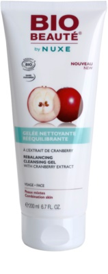 Bio Beauté by Nuxe Rebalancing wyrównujący żel oczyszczający z ekstraktem z żurawiny