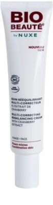 Bio Beauté by Nuxe Rebalancing изравняващ коригиращ крем с екстракт от червена боровинка