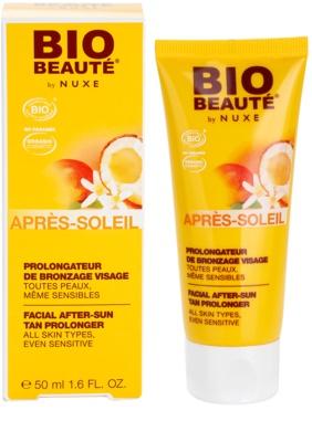 Bio Beauté by Nuxe Sun Care crema after sun para prolongar el bronceado 2