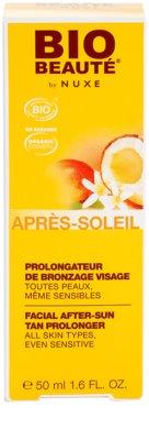 Bio Beauté by Nuxe Sun Care crema after sun para prolongar el bronceado 3