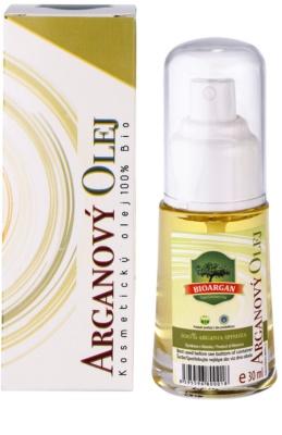 Bioargan Argan Oil косметична арганова олійка для обличчя, тіла та волосся 2