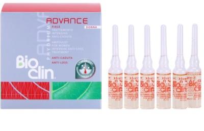 Bioclin Phydrium Advance ампулки проти випадіння волосся для жінок