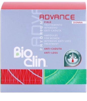 Bioclin Phydrium Advance ampułki przeciw wypadaniu włosów dla kobiet 2