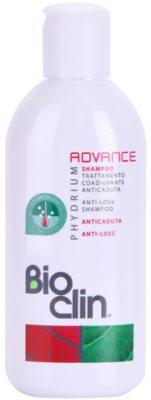 Bioclin Phydrium Advance champú revitalizador anticaída del cabello