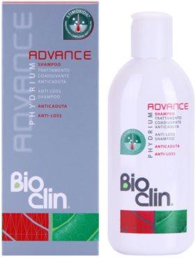 Bioclin Phydrium Advance champú revitalizador anticaída del cabello 1