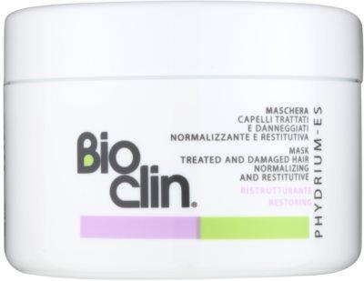 Bioclin Phydrium ES máscara renovadora para cabelo cansado e danificado