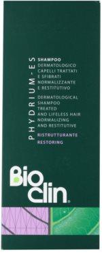 Bioclin Phydrium ES szampon odbudowujący włosy do włosów słabych i zniszczonych 2