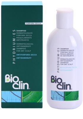 Bioclin Phydrium ES шампоан  против сух пърхот 1