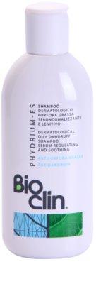 Bioclin Phydrium ES sampon pentru par gras si cu matreata