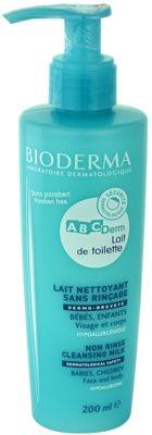 Bioderma ABC Derm Lait de Toilette hipoallergén tisztító tej gyermekeknek