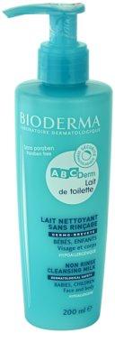 Bioderma ABC Derm Lait de Toilette leite de limpeza hipoalergénico  para crianças