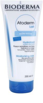 Bioderma Atoderm hydratačné telové mlieko pre suchú a citlivú pokožku