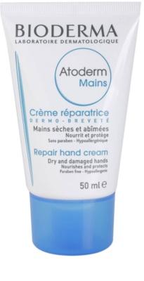 Bioderma Atoderm crema de manos para pieles muy secas, sensibles y atópicas