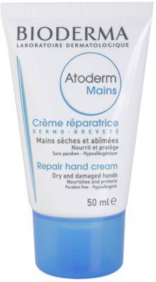 Bioderma Atoderm крем за ръце  за много суха чуствителна и атопична кожа