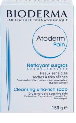 Bioderma Atoderm čisticí mýdlo pro suchou až velmi suchou pokožku 2