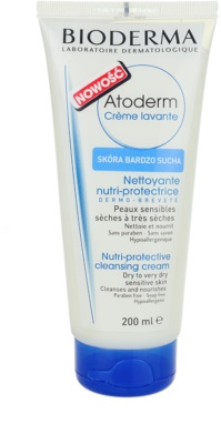 Bioderma Atoderm creme de banho para pele sensível seca a muito seco