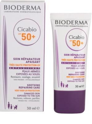 Bioderma Cicabio zklidňující a obnovující péče SPF 50+ 2