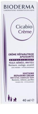 Bioderma Cicabio Creme antibakteriální krém proti podráždení a svědění pokožky 2