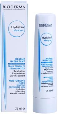 Bioderma Hydrabio Masque maseczka nawilżająco - odżywcza do wrażliwej bardzo suchej skóry 1