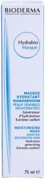 Bioderma Hydrabio Masque maseczka nawilżająco - odżywcza do wrażliwej bardzo suchej skóry 2