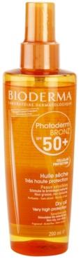 Bioderma Photoderm Bronz олио за слънце SPF 50+