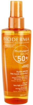 Bioderma Photoderm Bronz suho olje za sončenje SPF 50+