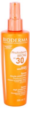 Bioderma Photoderm Bronz ochranný sprej podporující a prodlužující přirozené opálení SPF 30