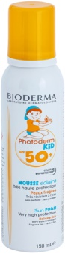 Bioderma Photoderm Kid espuma de protección solar para niños SPF 50+